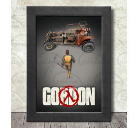 Gordon Poster Print A3+ 13 x 19 in - 33 x 48 cm #freeman #half-life #akira v1