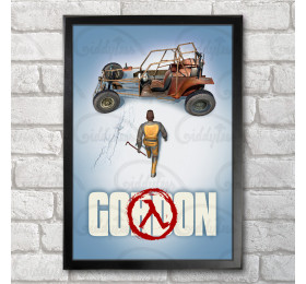 Gordon Poster Print A3+ 13 x 19 in - 33 x 48 cm #freeman #half-life #akira v2