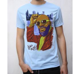 Isaac Hayes T shirt Artwork