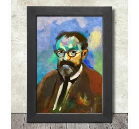 Henri Matisse Portrait Poster Print A3+ 13 x 19 in - 33 x 48 cm