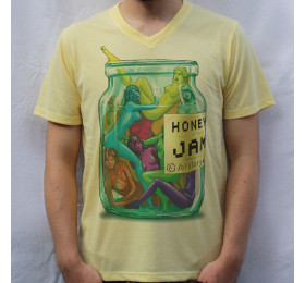 Honey Jam T-Shirt Artwork by OfGiorge