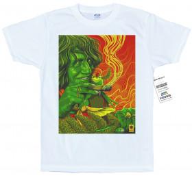 Howard Marks T shirt Artwork by rosenfeldtown, Mr Nice, ganja, weed