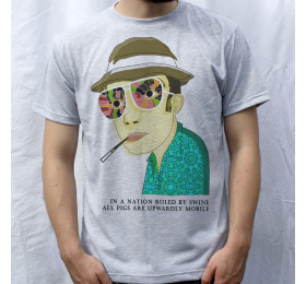 Hunter S. Thompson T shirt Psychedelic Design