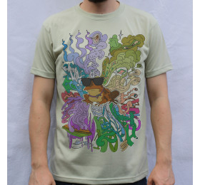 Hypnotoad Psychedelic Artwork T-Shirt
