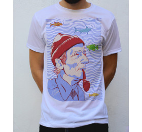Jacques-Yves Cousteau T shirt Artwork