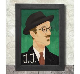 James Joyce Poster Print A3+ 13 x 19 in - 33 x 48 cm