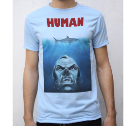Jaws - Human T shirt Artwork