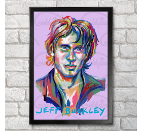 Jeff Buckley Poster Print A3+ 13 x 19 in - 33 x 48 cm
