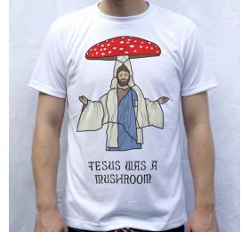 Jesus was a Mushroom T-Shirt Design by Tibith