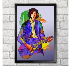 Jimmy Page Poster Print A3+ 13 x 19 in - 33 x 48 cm