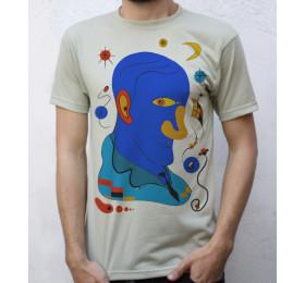 Joan Miró T shirt Portrait Design