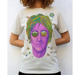 Imagine John Lennon Portrait T shirt Artwork