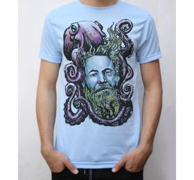 Jules Verne T shirt Artwork
