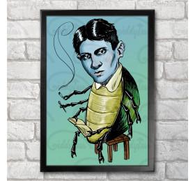 Franz Kafka  Poster Print A3+ 13 x 19 in - 33 x 48 cm The Metamorphosis Artwork
