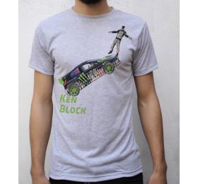 Ken Block T shirt Artwork