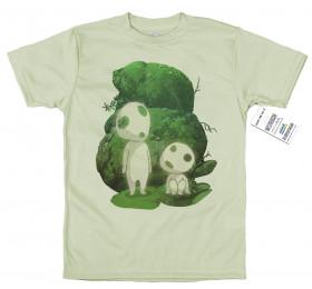Kodama T shirt Design, #tree spirits #princess Mononoke
