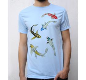 Koi Fish T shirt Artwork Japanese Carp