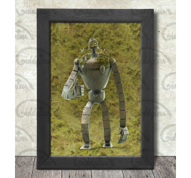 Laputa's Guardian Robot Poster Print A3+ 13 x 19 in - 33 x 48 cm #Castle in the Sky