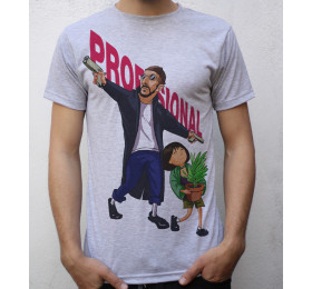 Leon & Mathilda T shirt Artwork, Léon: The Professional