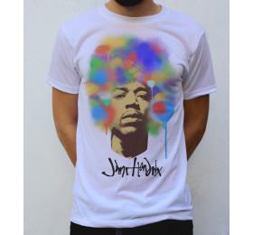 Jimi Hendrix T shirt Design
