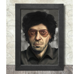 Lou Reed Poster Print A3+ 13 x 19 in - 33 x 48 cm