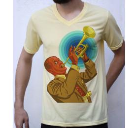Louis Armstrong T shirt Artwork