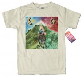 LSD Albert Hofmann T Shirt 3D rendered Artwork #acid blotter v3