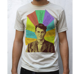 Ludwig Wittgenstein T shirt Quotes Design