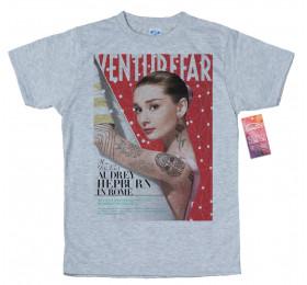 Audrey Hepburn T shirt, Venture Far Magazine