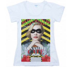 Cate Blanchett T shirt, Vanity Not Fair Magazine