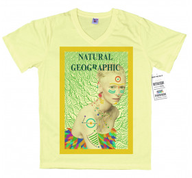 Tilda Swindon T shirt, National Geographic Magazine