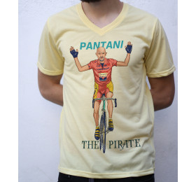 Marco Pantani T shirt Artwork