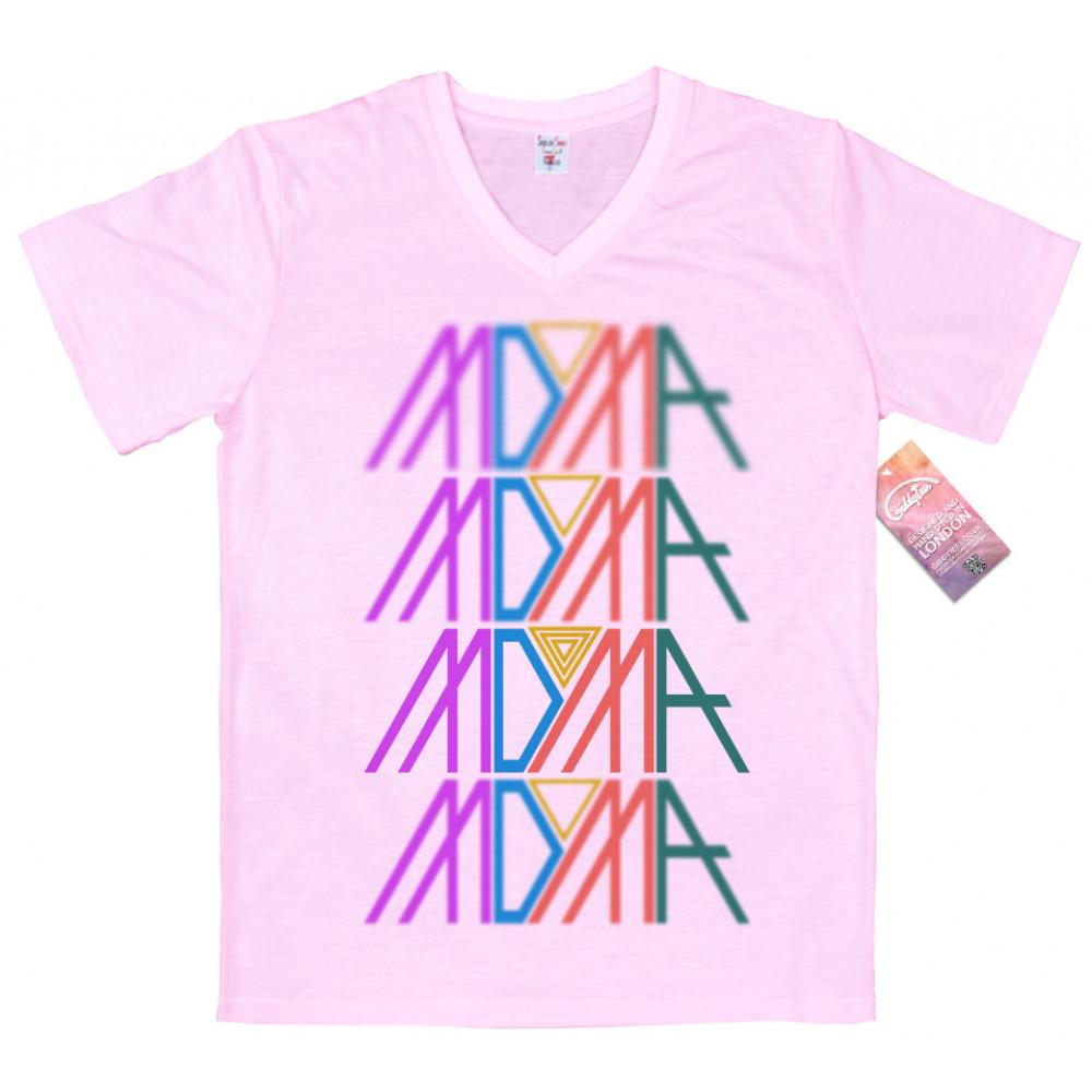 Spiderwire Logo Design T Shirt Size Medium Polyester: MDMA Logo Design T Shirt