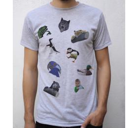 Meme T shirt Design, Philosoraptor, Insanity Wolf, Confession Tiger