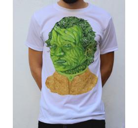 Gregor Mendel T shirt, Psychedelic Design