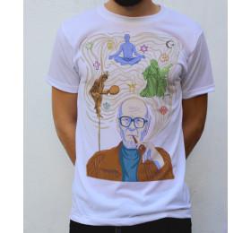Mircea Eliade T shirt Artwork by psyl0