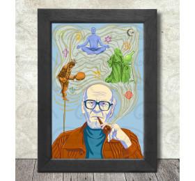 Mircea Eliade Poster Print A3+ 13 x 19 in - 33 x 48 cm