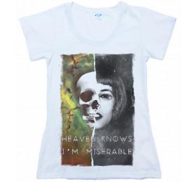 Heaven Knows I'm Miserable T-Shirt Design