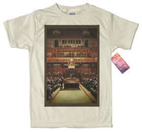 Monkey Parliament T Shirt Design By Banksy