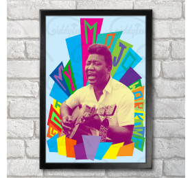Muddy Waters Poster Print A3+ 13 x 19 in - 33 x 48 cm