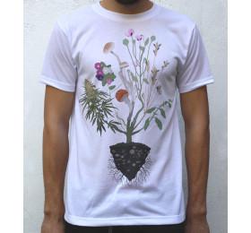 Nature's Healers T shirt Artwork by psyl0, Liberty caps, Fly Agaric, Salvia Divinorum