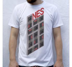 Nintendo NES 1983 T-shirt 8-bit Design