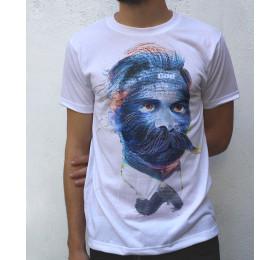 Friedrich Nietzsche T shirt Artwork