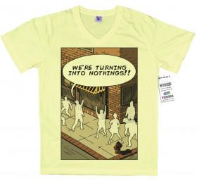 Turning into Nothings T shirt Artwork