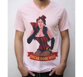 Oscar Gone Wilde T shirt Artwork