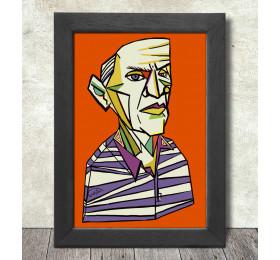 Pablo Picasso Portrait  Poster Print A3+ 13 x 19 in - 33 x 48 cm