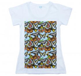 Butterflies - Larvae Pattern T shirt Artwork