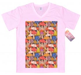Mushrooms Pattern T shirt Artwork
