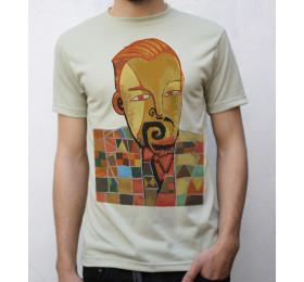 Paul Klee Portrait T shirt Artwork