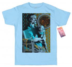 Philip K Dick T shirt Artwork by rosenfeldtown